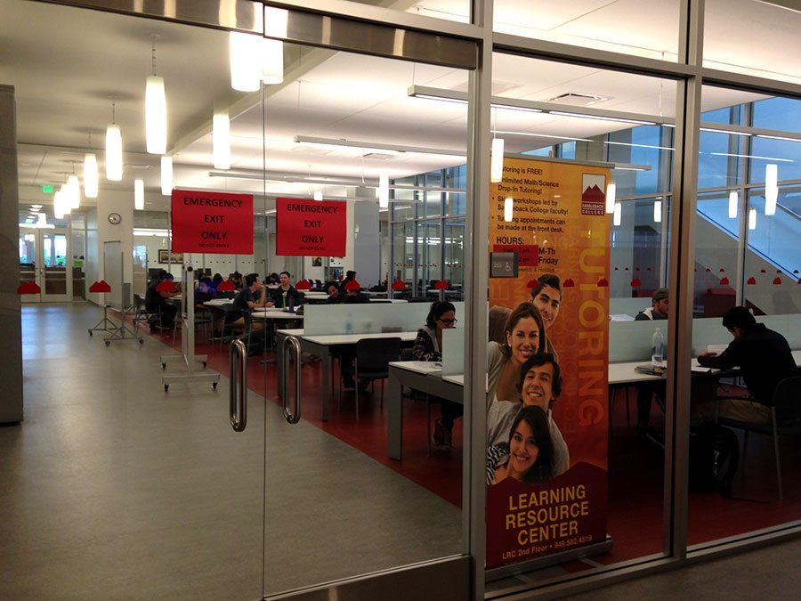 The LRC, where the PASS Program is held for Saddleback student athletes.