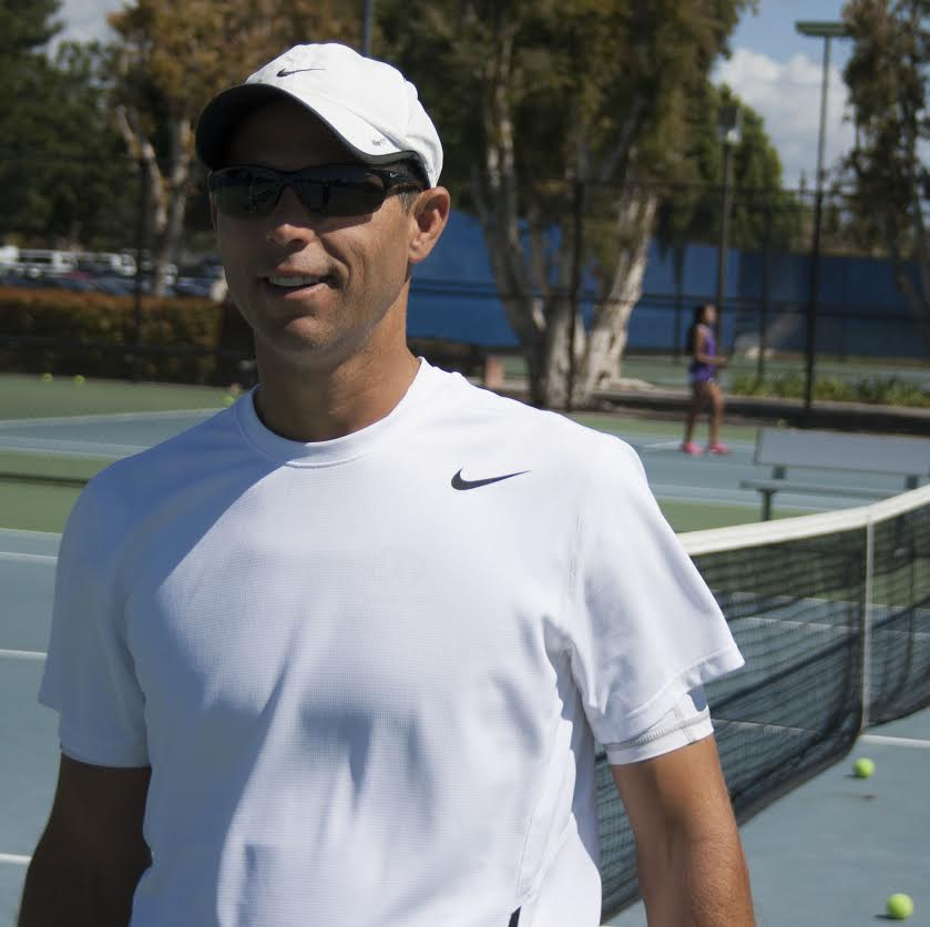 Ross Duncan, head tennis coach and professional tennis player, will be competing in Photo by Dan Pestolesi