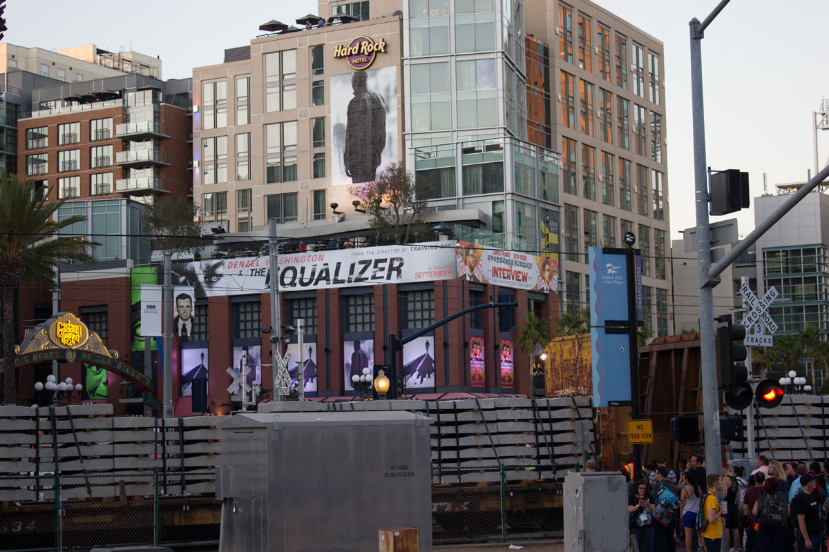 The Equalizer: The Equalizer premiered at the Gaslamp District in San Diego on September 26,2014. (Creative Commons)